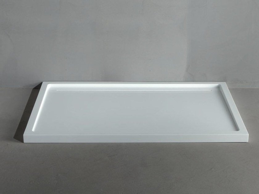 Extra flat Corian® shower tray IN-LINE by RIFRA