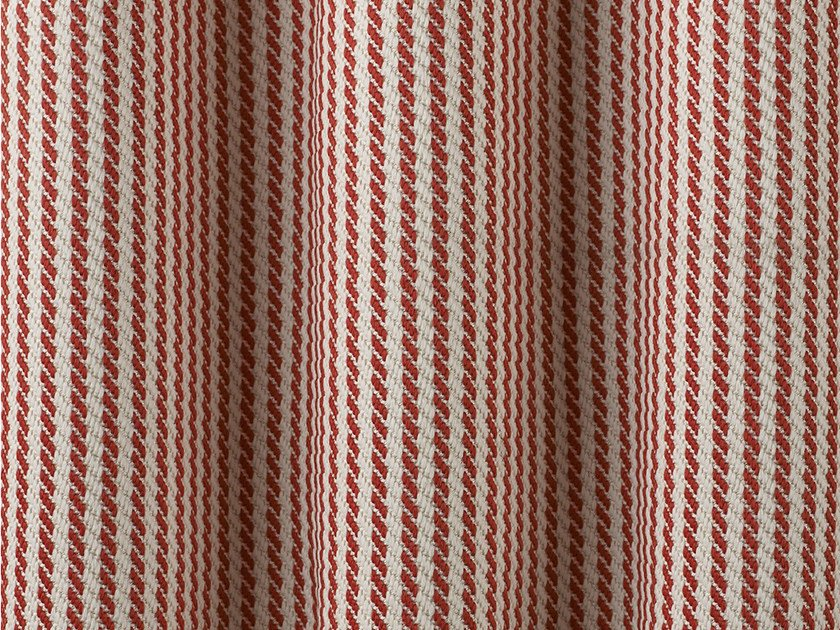 Synthetic fibre fabric with graphic pattern SUMMERTIME by Dedar