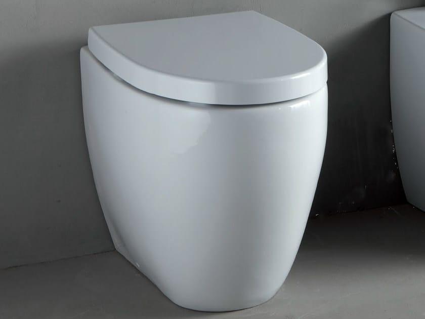 White-paste toilet BOLD | Toilet by RIFRA