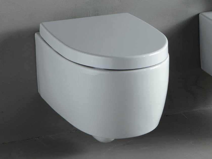 Wall-hung white-paste toilet BOLD | Wall-hung toilet by RIFRA