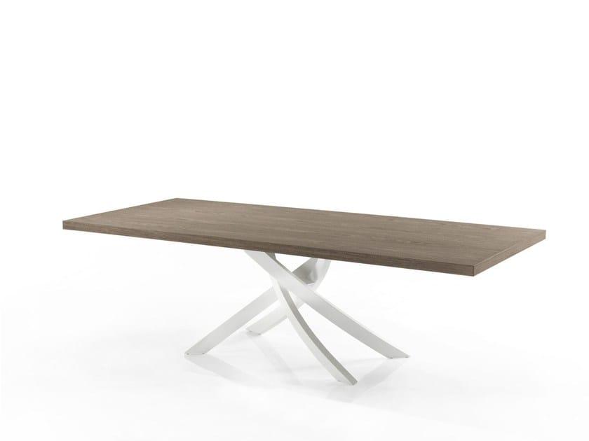 ARTISTICO | Tavolo in legno By Bontempi