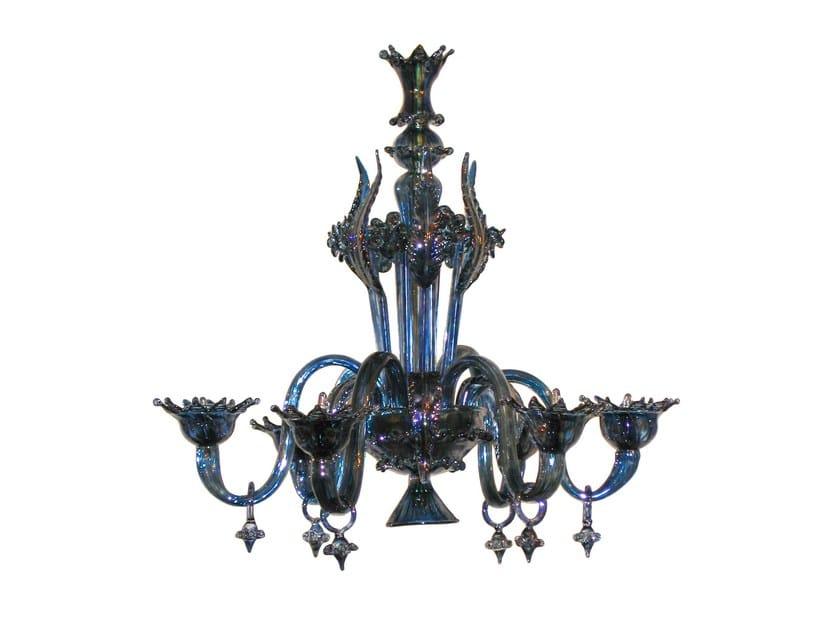 Murano glass chandelier PLAZA by Veronese