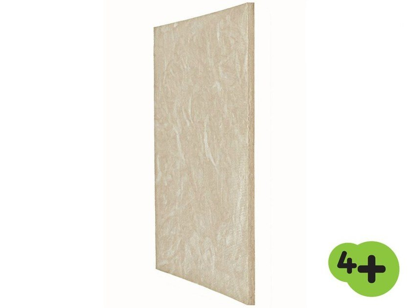 Sound insulation and sound absorbing panel in mineral fibre EKOSOL N 4+ by Saint-Gobain ISOVER