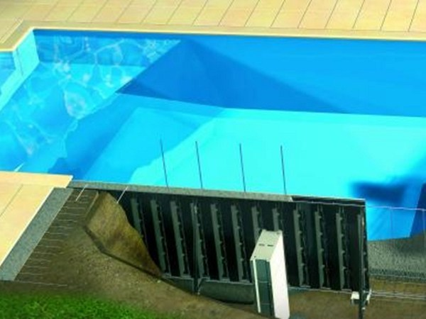 In-Ground Swimming pool Active Permanent Formwork by Desjoyaux