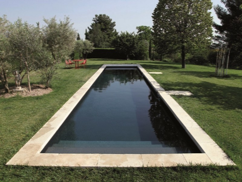 Rectangular stairs for swimming pools DESJOYAUX | Rectangular stairs for pools by Desjoyaux