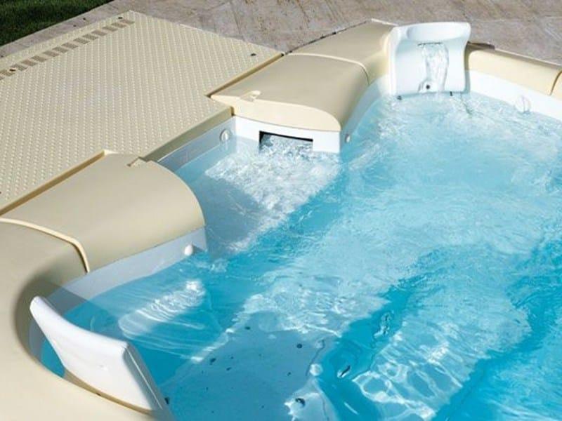 Swimming pool filter / Stairs JET SET DESJOYAUX By Desjoyaux