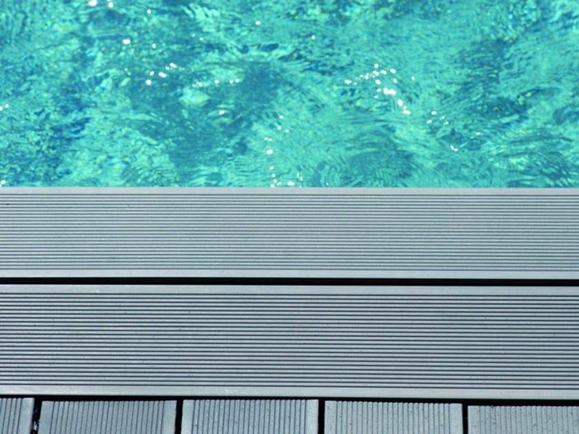 Composite material outdoor floor tiles DESIGN DESJOYAUX | Composite material outdoor floor tiles by Desjoyaux