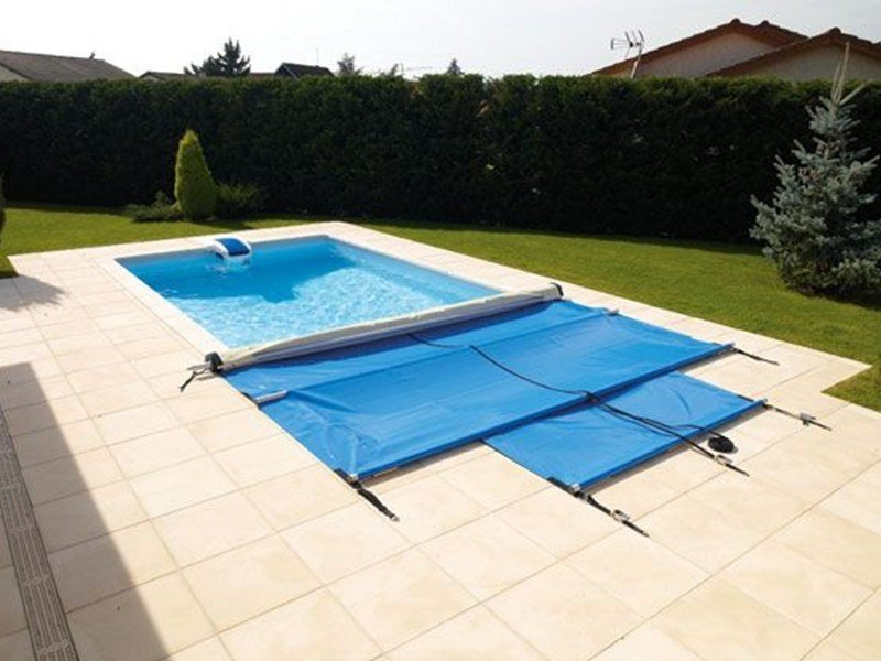 Sliding Swimming pool cover DESJOYAUX | Swimming pool cover by Desjoyaux