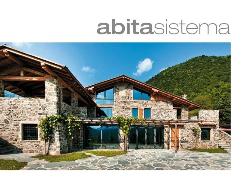 Engineered stone wall tiles abitasistema® by GEOPIETRA®