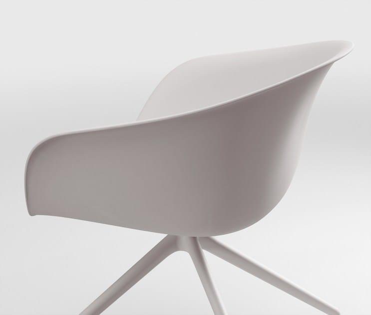 Admirable Duna 02 Chair With Castors Domus Machost Co Dining Chair Design Ideas Machostcouk