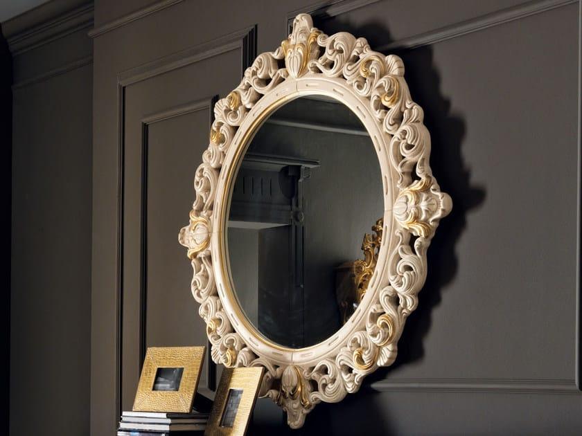 Wall-mounted framed mirror 11632 | Mirror by Modenese Gastone