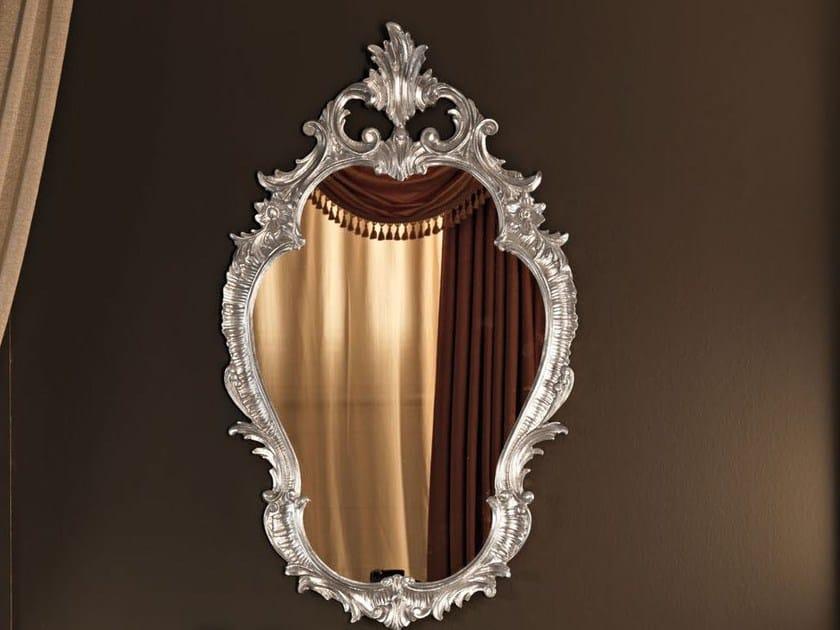 Wall-mounted framed mirror 11636 | Mirror by Modenese Gastone
