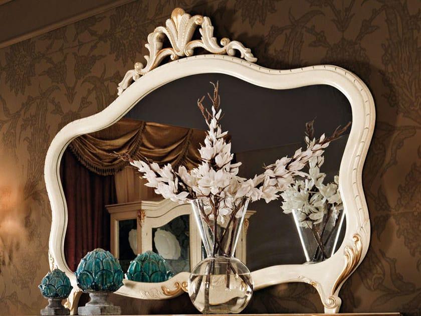 Wall-mounted framed mirror 11628 | Mirror by Modenese Gastone