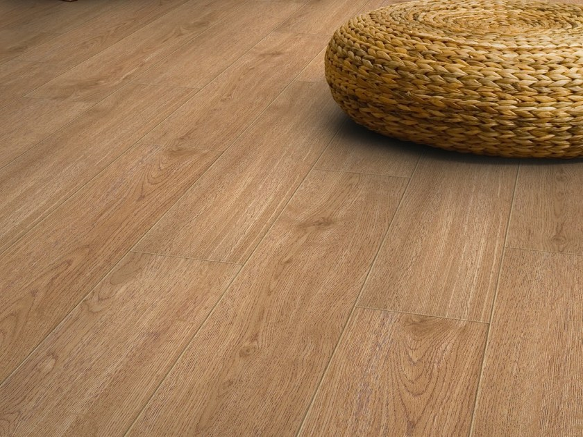 Vinyl floor tiles with wood effect INSIGHT WOOD by gerflor