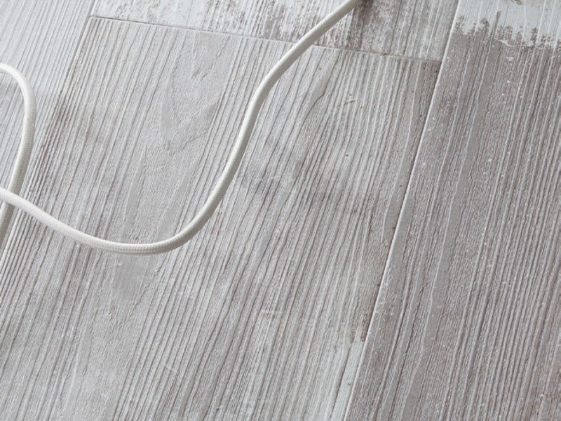 Synthetic material floor tiles with wood effect SENSO RUSTIC 7.25' by gerflor