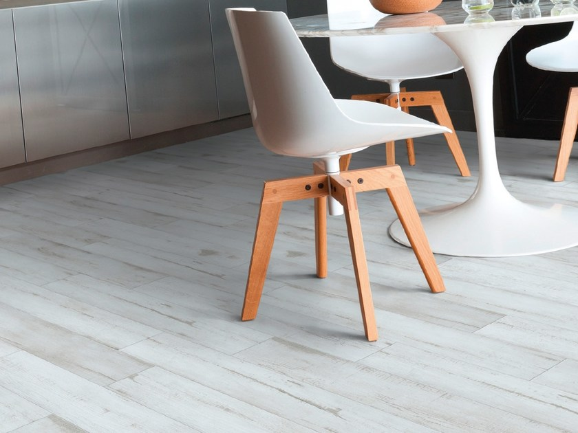 Vinyl floor tiles with wood effect SENSO URBAN 6' by gerflor