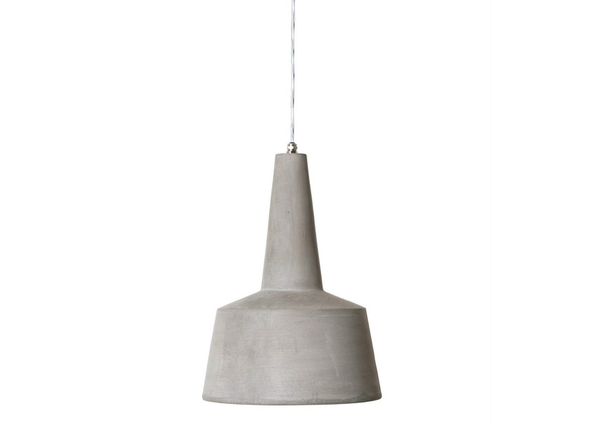 Cement pendant lamp EOLO by Karman