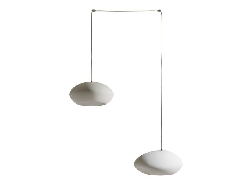 Ceramic floor lamp PIETRO | Floor lamp by Karman