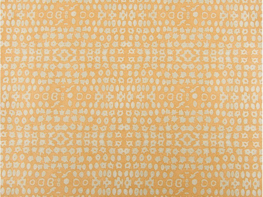 Cotton fabric with graphic pattern GRENADINES by KOHRO