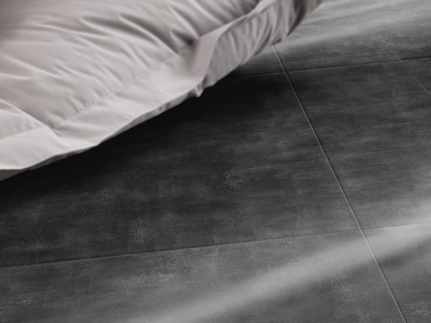 Ultra thin composite material floor tiles CARACTERE TREND by gerflor