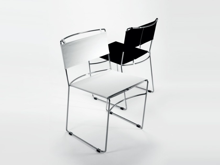Stackable fabric chair DELFINA by REXITE