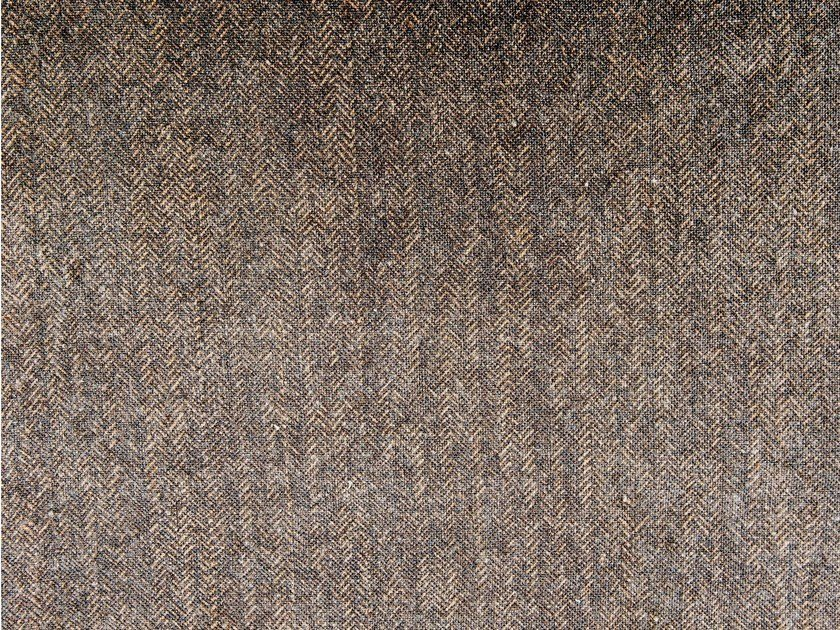 Solid-color linen fabric CARGO by KOHRO