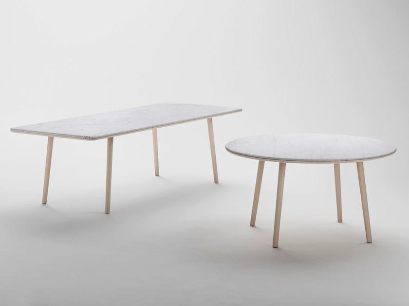 arin table ronde by retegui design jean louis iratzoki. Black Bedroom Furniture Sets. Home Design Ideas