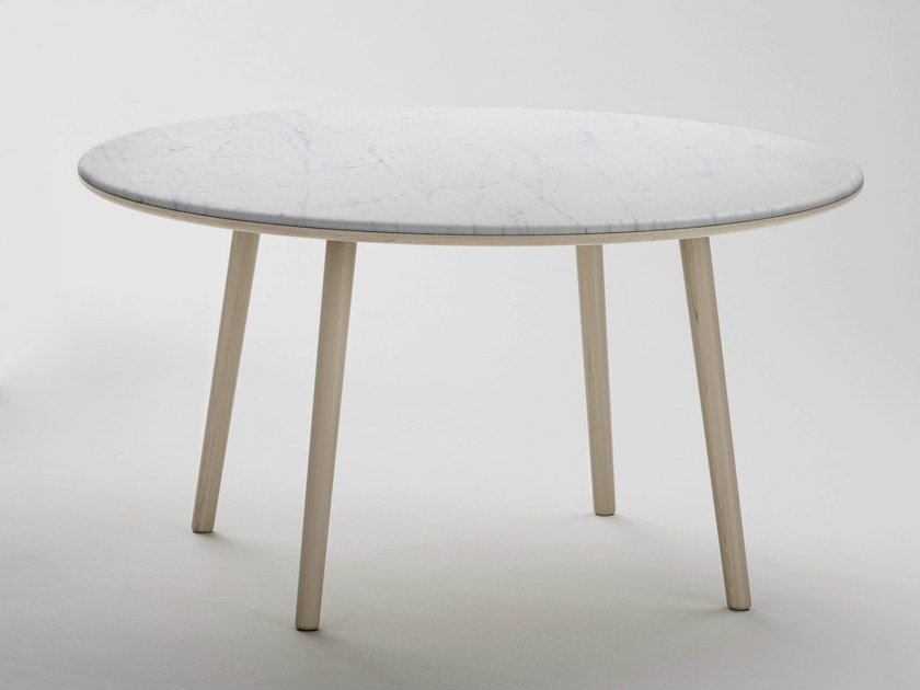 Round marble dining table ARIN | Round table by RETEGUI