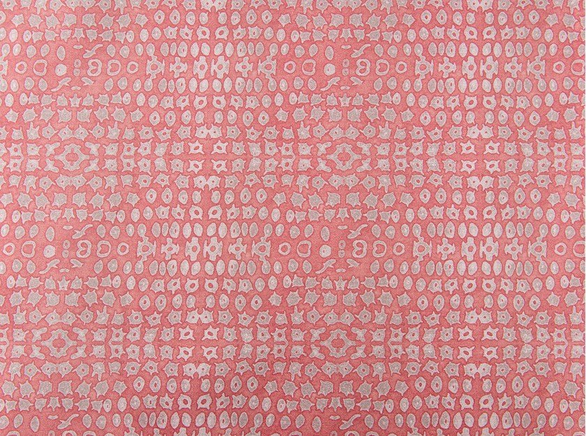 Cotton fabric with graphic pattern GRENADINES KEYS by KOHRO