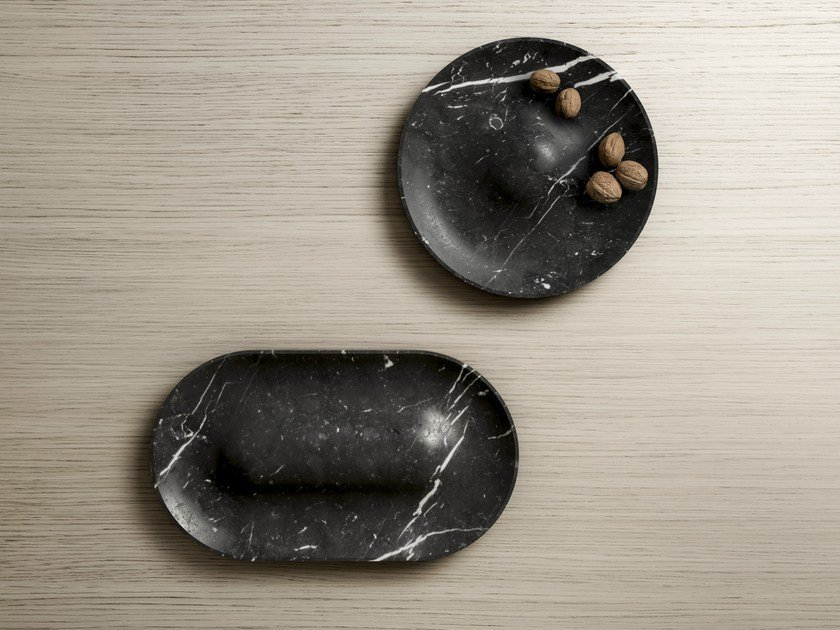 Marble fruit bowl / pin tray DOMO by RETEGUI