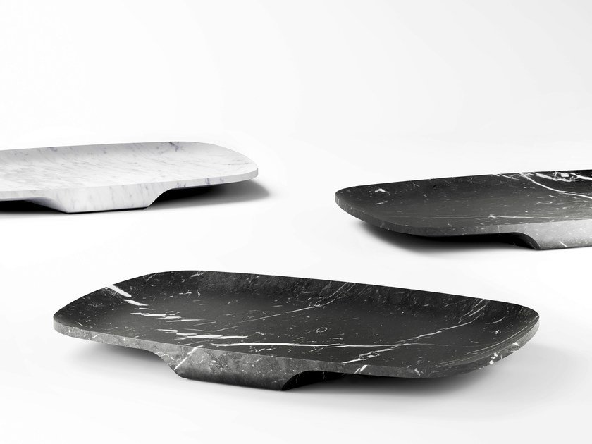 Marble tray BATELA by RETEGUI