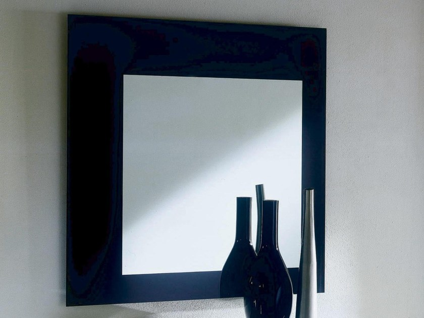Square wall-mounted mirror SQUARE by Bontempi