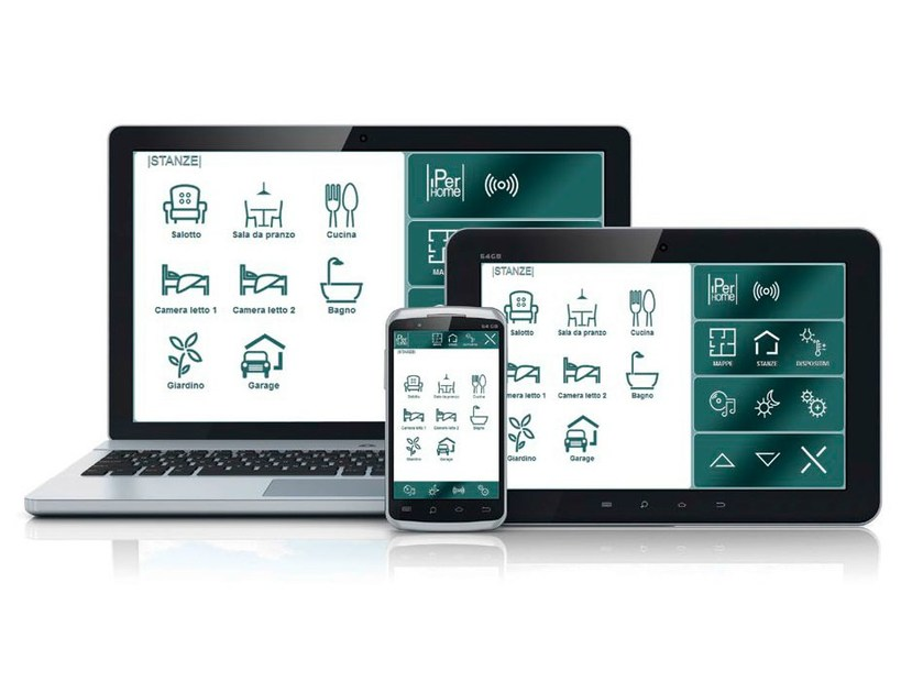 Building automation system IPerHome by Urmet