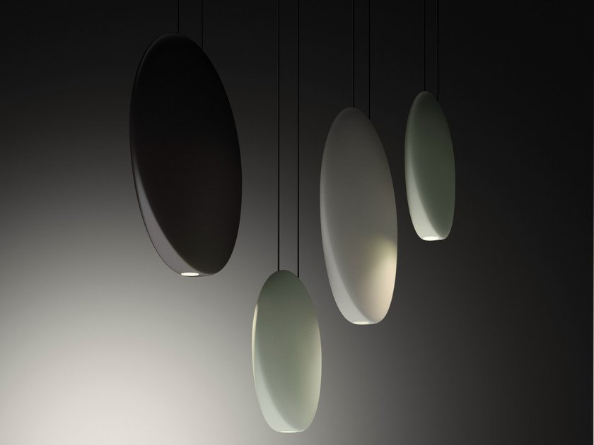 LED polycarbonate pendant lamp COSMOS by Vibia