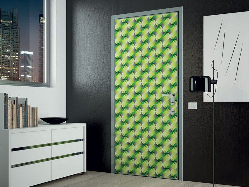 door with concealed hinges ESSENZIA By DiBi Porte Blindate