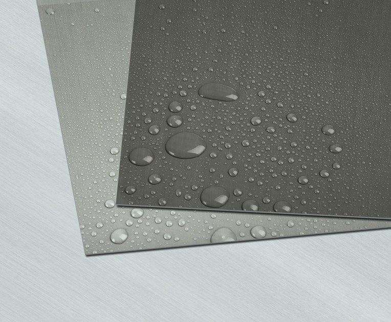 Continuous metal laminate for roof PROTECT LINE by RHEINZINK Italia