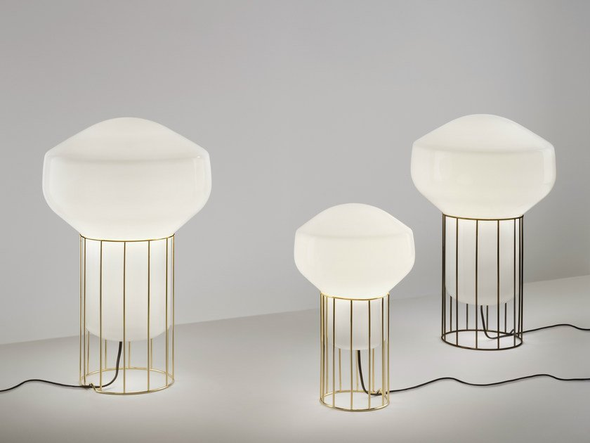 Blown glass table lamp AÉROSTAT   Table lamp by Fabbian
