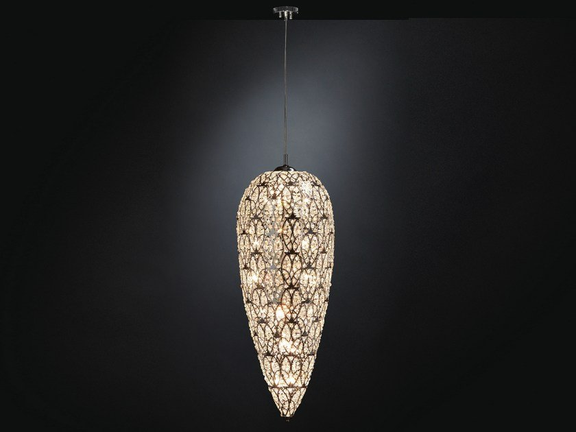 Pendant lamp with crystals ARABESQUE SENSATION by VGnewtrend