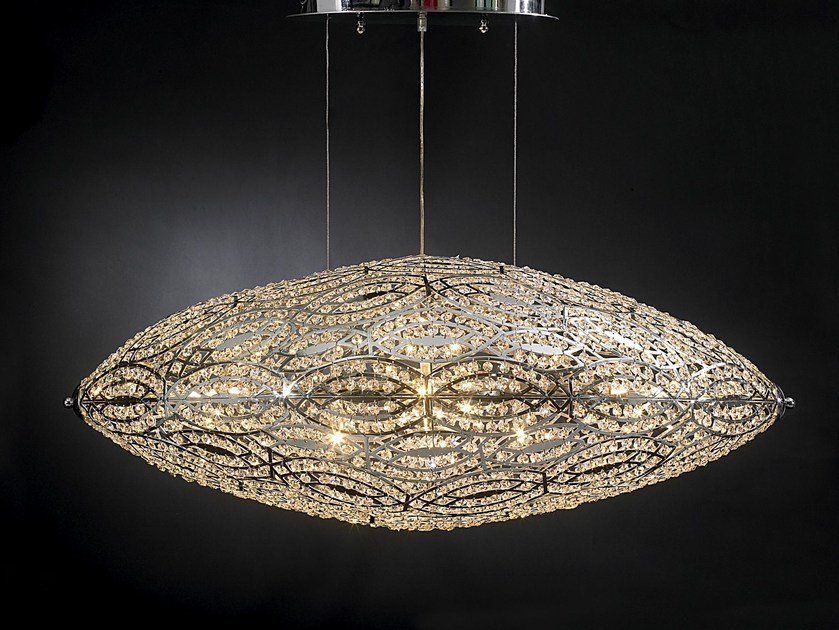 Pendant lamp with crystals ARABESQUE AIRSHIP | Pendant lamp by VGnewtrend