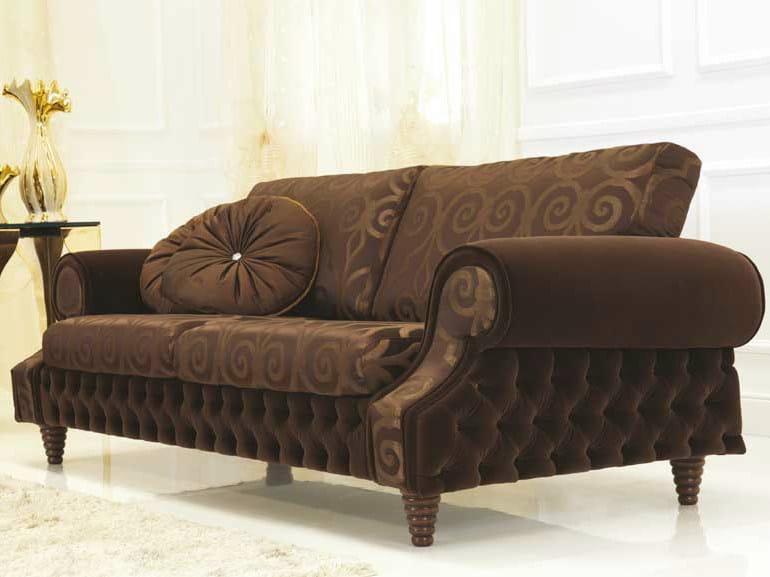 Tufted fabric sofa VENICE | Fabric sofa by Formenti