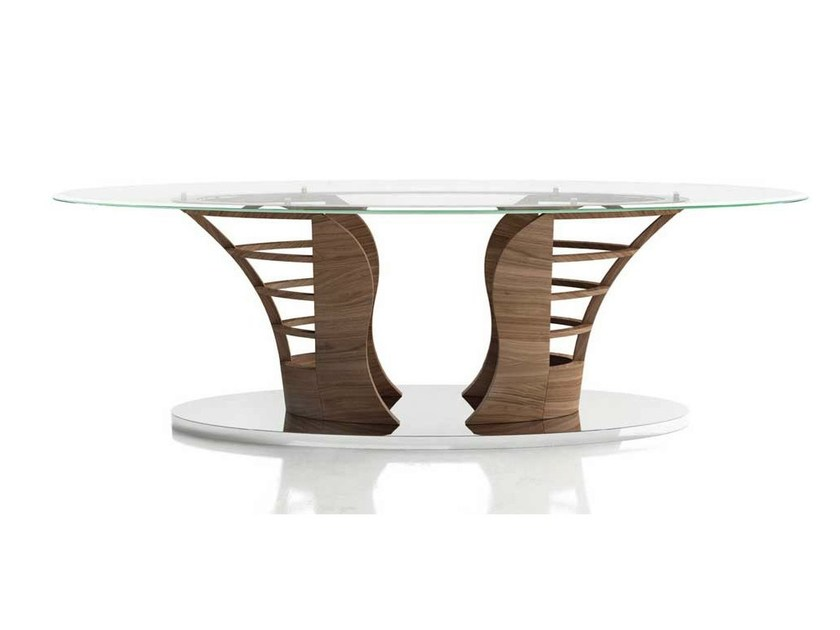 Oval living room table SAILER by Formenti