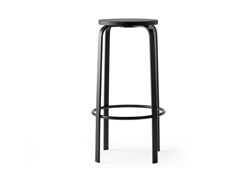 High stool with footrest CHICO by ONDARRETA