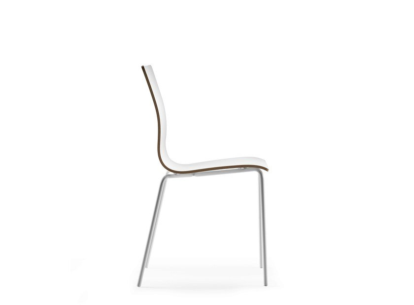 Stackable chair DANE by ONDARRETA