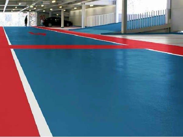 Resin industrial flooring Triflex DeckCoat by Triflex Italia