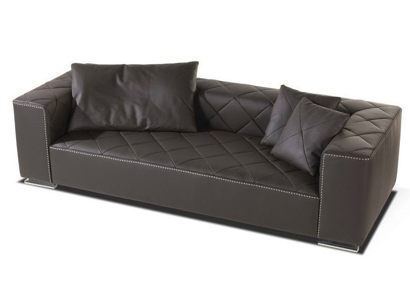 Leather sofa BEAUTY | Sofa by Formenti