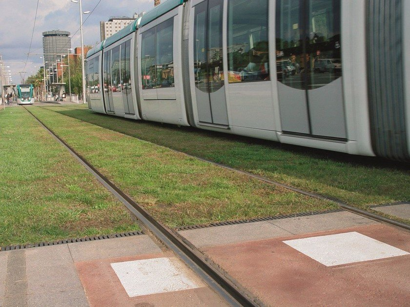 Drainage channel and part ACO Tram by ACO PASSAVANT