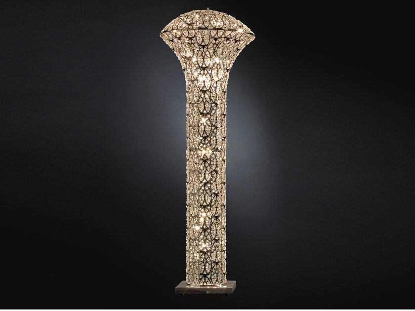 Floor lamp with crystals ARABESQUE EXCLAMATION   Floor lamp by VGnewtrend