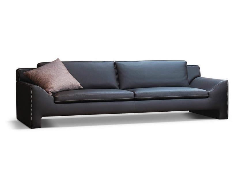 Leather sofa JAZZ | Sofa by Formenti