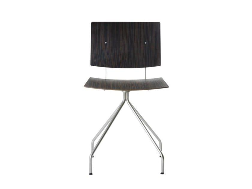 Swivel trestle-based chair DON   Swivel chair by ONDARRETA