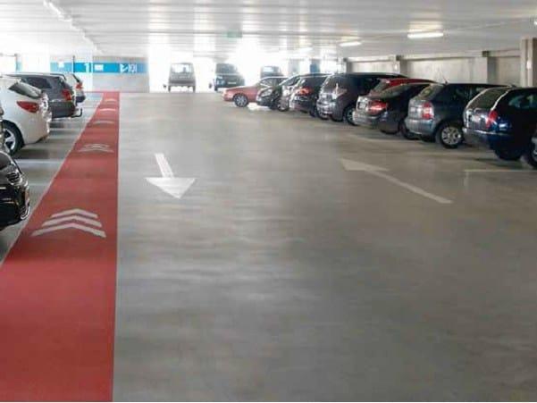 Resin industrial flooring Triflex  ProDeck® by Triflex Italia